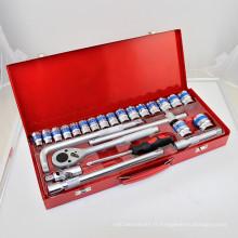Hot Sale à Tailand 25PCS Dr. Socket Set Réparation de véhicules