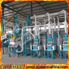 10-500 ton/day capability maize flour mill/ maize milling machine/ maize grinding machine