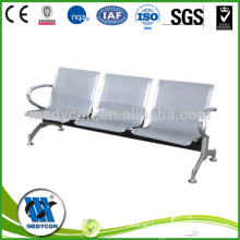 hospital chair made of steel coated waiting chair