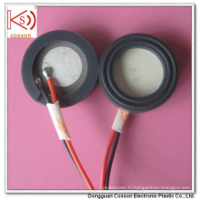 Bonne qualité 20mm, RoHS ISO9001 1.7MHz Pièce d'atomisation ultrasonique