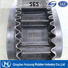 Correia transportadora de parede lateral com grande força adesiva (H = 260 mm)