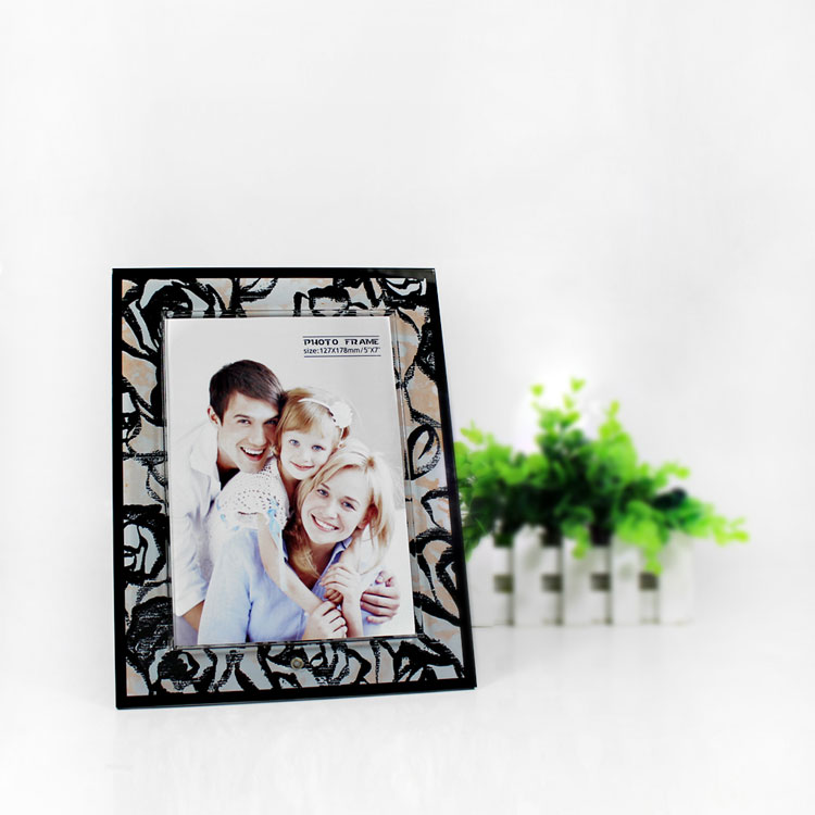 Lucite Photo Frame