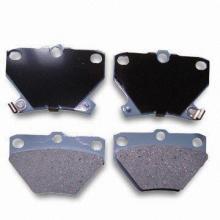 Brake Pads, GDB3243/D823 Lucas Number, Made of Asbestos, Non-asbestos and Semi-metal