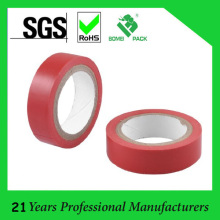 15mm rotes PVC Adhesived elektrisches Isolierband