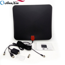 Factory Price Indoor HDTV Digital Antenna 50 Mile Range With Detachable Signal Amplifier