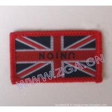 Badge tissé, broderies, garnitures, accessoires en tissu