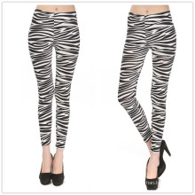2016 Wholesale Legging Zebra Stripes Women Legging