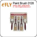 Conjunto de cepillo de pintura con mango de goma