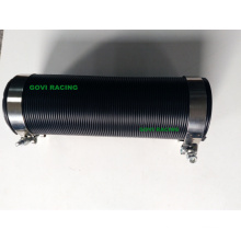 4 '' Zoll Kunststoff flexibles Schlauch Luft Ansaugrohr mit 2PCS T-Klemmen