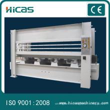 Prensa caliente hidráulica de la prensa de la máquina para las puertas