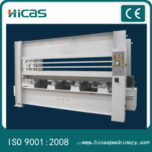 Máquina de pressão quente hidráulica Prensa quente para portas