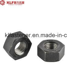 ISO4032 Черные шестигранные гайки Cl. 6/8/10