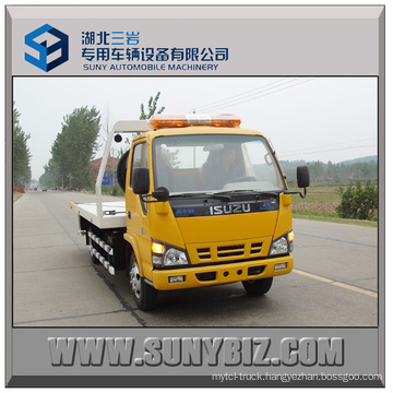 3t Isuzu 600p 4X2 City Road Wrecker Truck