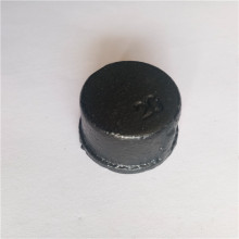 Malleable cast iron end cap for water pipe