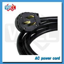 Homologación UL CUL 125V 250V 20A 50A Cable de alimentación NEMA 10-50P