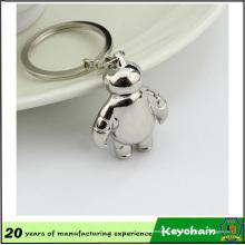 Porte-clés en métal 3D Baymax Lovely