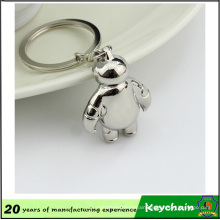 3D Metal Baymax Keychain Lovely