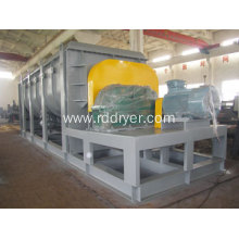 wedge shaped spent grain drying machine paddle dryer