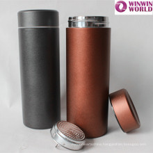 Promotional Gift Wholesale Colored Stainless Steel Vacuum Tea Thermos