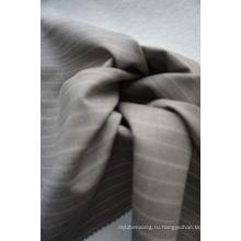 Полосатая шерстяная ткань для костюмов
