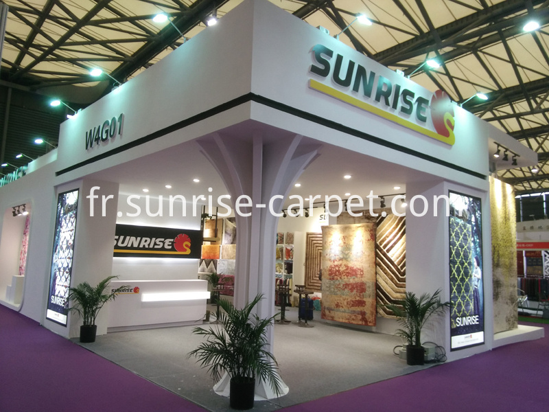 Domotex Asia Fair of SUNRISE