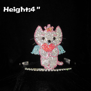 Mini Lovely Cat Angel Pageant Crowns