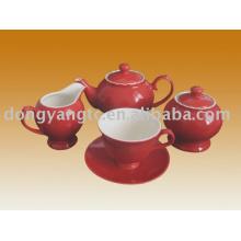 Juego de té de porcelana al por mayor directo de fábrica