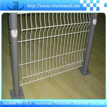 Verzinkter Zaun aus verzinktem Stahl