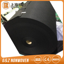 tela spunlace viscosa / fibra de bambú negro