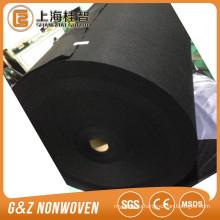 spunlace fabric viscose/bamboo fiber black