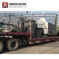 Chaudière à vapeur alimentée par balle de riz à la biomasse industrielle Nigeria