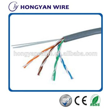cable ethernet flexible cat 5e utp