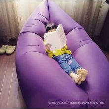 Saco de dormir inflável do lugar de suspensão de Lamzac do ar de nylon da tela
