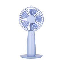 Mini USB Hand Make up Mirror Fan ricaricabile