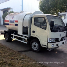 5cbm LPG Gas Refilling Tank Truck
