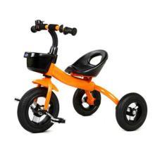 ホットセール格安価格三輪車10インチの子供が三輪車に乗って