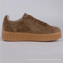 Zapatos de mujer Gamuza / Cuero PU Inyección Zapatos Snc-65007
