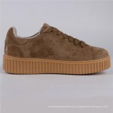 Sapatos de mulheres Cow Camurça / Couro PU Injection Shoes Snc-65007