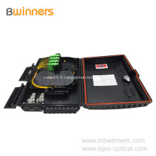 Boîte de terminaison de fibre optique SC Ftth pour distribution de câble extérieure, 16 cœurs