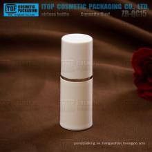 Impresión y ZB-QC15 15 ml control de calidad terminante color modificado para requisitos particulares delicado blanco 15ml bulto plástico biodegradable cosméticos contai