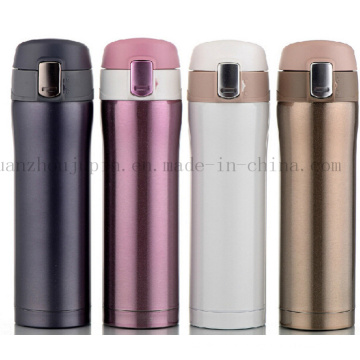 OEM Logo Stainless Steel Drive Travel Thermos Vacuum Flask Bottle
