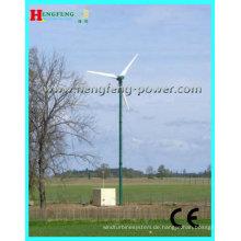 Niedrigen Drehzahlen 3 klingen Windgenerator 2000w