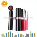 Hot sale cosmetics package plastic lipstick container wholesale