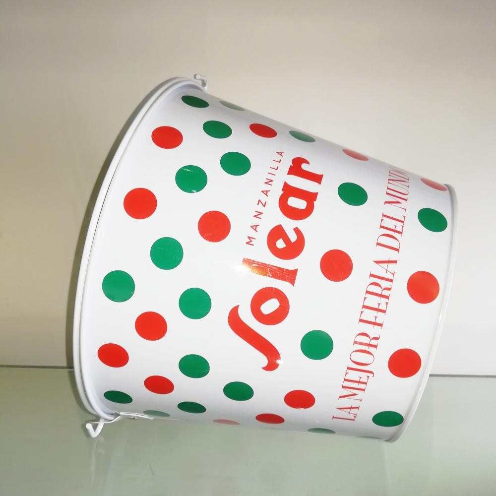 tin ice bucket