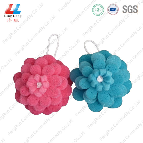 multilayer flower sponge