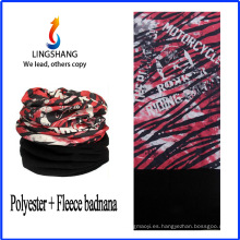 Bandolera del paño grueso y suave del paño grueso y suave del pañuelo del bandana del cuello de LINGSHANG