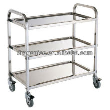 2014 Stainless Steel hospital trolley