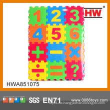 Interessante EVA Puzzlespielmatte 36PCS Mathe, die Spielzeugkindpuzzlespielmatte lernt