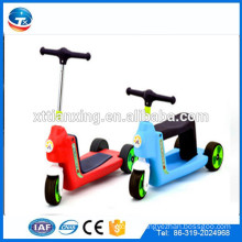 2015 New Model Japanese Wholesale Cheap High Quality Adjustable Slipping Foldable Three Wheel Kids Two Footed Pedal Tricycle