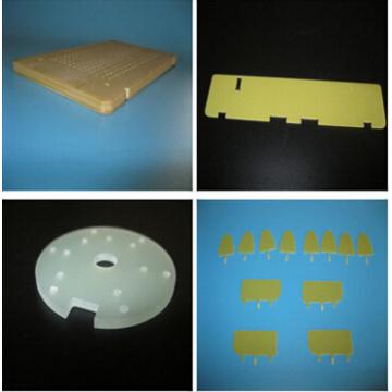 FR4 da cola epoxy da fibra de vidro cnc usinagem de peças